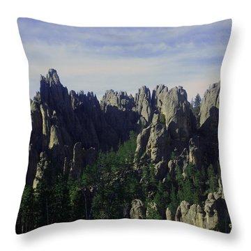 Devil's Peak Throw Pillow
