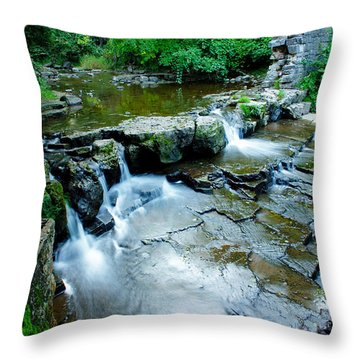 Devils River 1 Throw Pillow