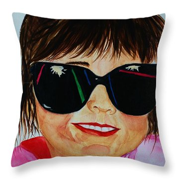 Devin Throw Pillow
