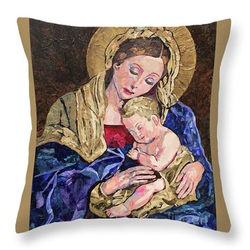 Devine Intervention Throw Pillow by Pat Craft