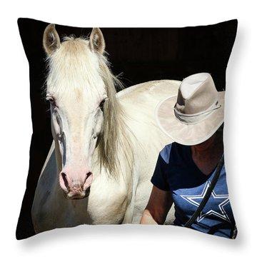 Devine Spirit Of Hope Throw Pillow