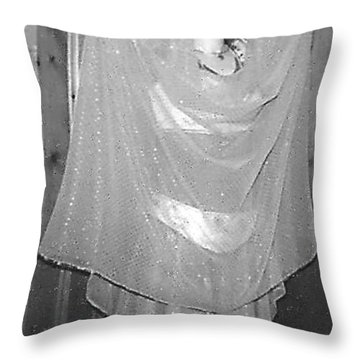 Throw Pillow featuring the photograph Devotion by Denise Fulmer