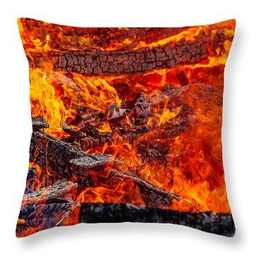 Flammable Throw Pillows