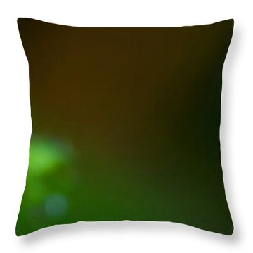 Dewy Blossom  Throw Pillow