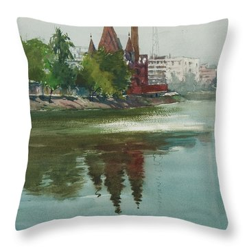 Dhanmondi Lake 04 Throw Pillow