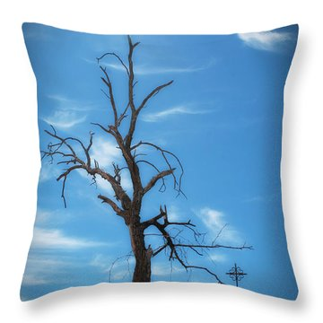 Throw Pillow featuring the photograph Dia De Los Muertos by Lynn Geoffroy