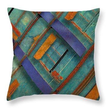 Diagonal Throw Pillow by Don Gradner