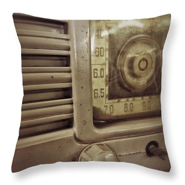 Dialing In Throw Pillow by Olivier Calas