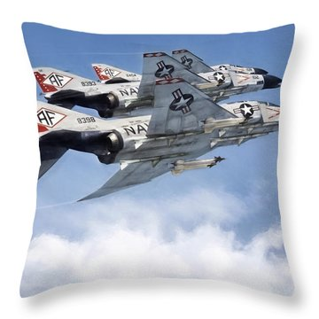 Diamonback Echelon Throw Pillow