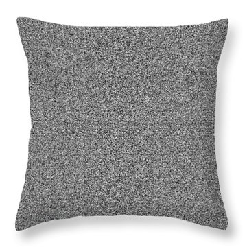 Diamond Dimension Doorway Throw Pillow