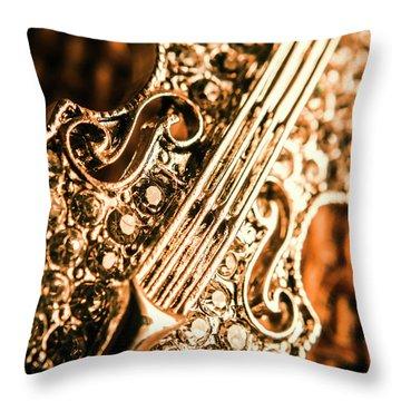 Diamond Ensemble Throw Pillow