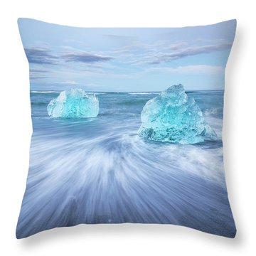 Diamond In The Rough. Throw Pillow