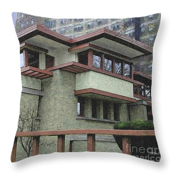 Diamond In The Ruff Throw Pillow