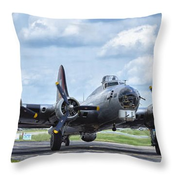 Throw Pillow featuring the photograph Diamond Lil by Linda Constant