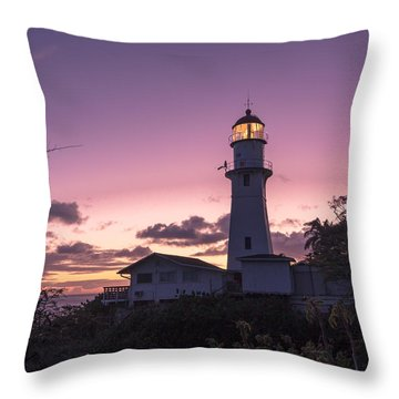 Diamondhead Lighthouse Throw Pillow