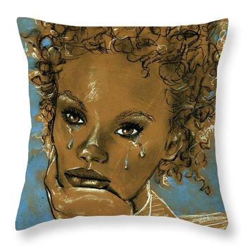 Diamond's Daughter Throw Pillow