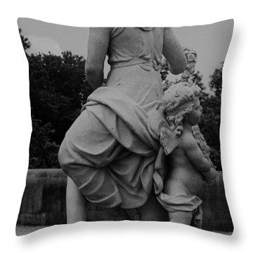 Throw Pillow featuring the painting Diana by Eric  Schiabor