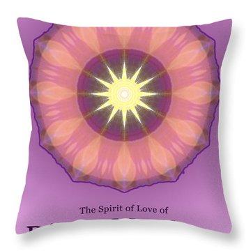 Diana Mcclure Throw Pillow