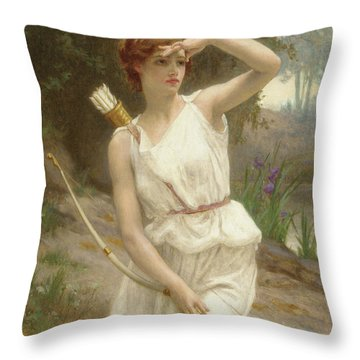 Artemis Throw Pillows