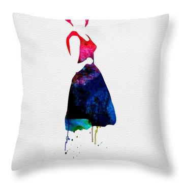 Jazz-funk Throw Pillows