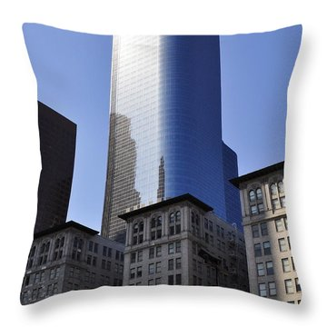Dichotomy Throw Pillow by Clayton Bruster