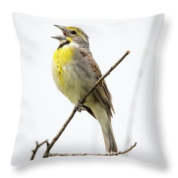 Dickcissel  Throw Pillow
