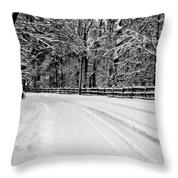 Dicksons Mill Road Throw Pillow