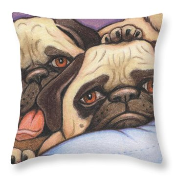 Did Someone Say Cookie Throw Pillow by Amy S Turner
