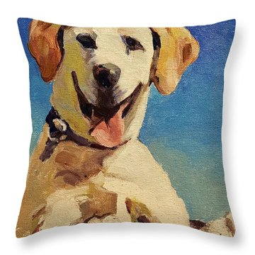 Did Someone Say Treat? Throw Pillow