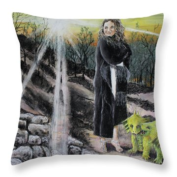 Did You Do That? Throw Pillow