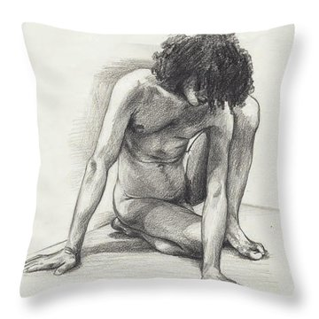 Didier - London Throw Pillow by Amy S Turner