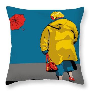 die Polin Throw Pillow