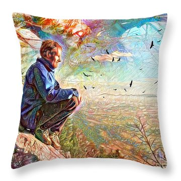Die Slowly - Lentamente Muore  Throw Pillow