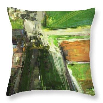 Diebenkorn Homage Throw Pillow