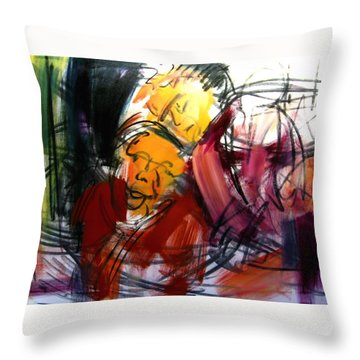 Diego And Maria Unfinished Throw Pillow