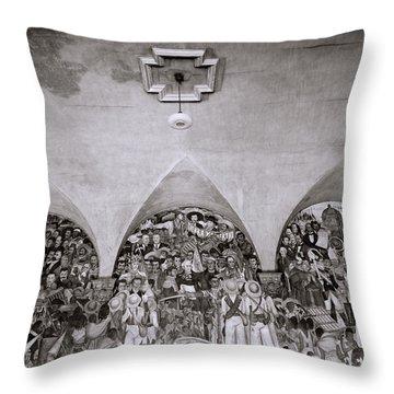 Diego Rivera Throw Pillow