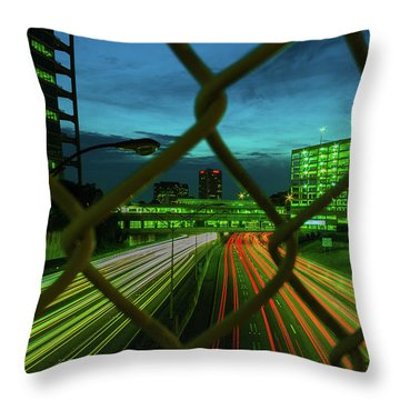 Different Is Ok Throw Pillow