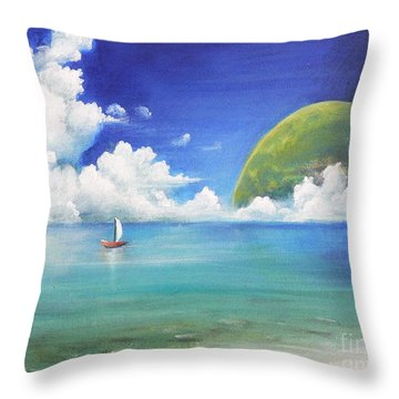 Different Point Of View Throw Pillow