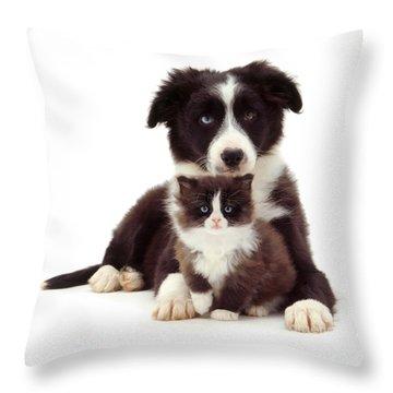 Different Strokes - Same Love Throw Pillow