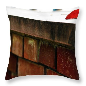 Different Therefore Cornered  Throw Pillow