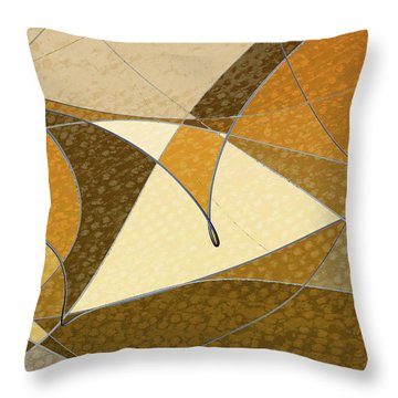 Diffusion Throw Pillow by Don Gradner