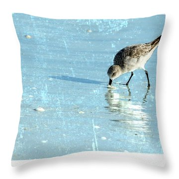 Dig In Throw Pillow