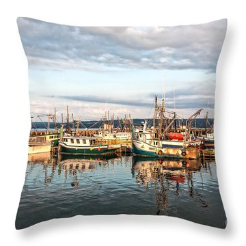 Digby Harbour Throw Pillow