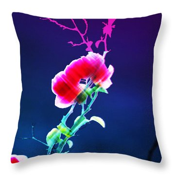 Digital 1 Throw Pillow