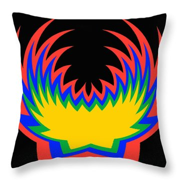 Digital Art 14 Throw Pillow