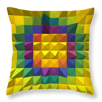 Digital Art 5 Throw Pillow