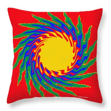 Digital Art 8 Throw Pillow