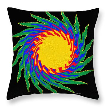Digital Art 9 Throw Pillow