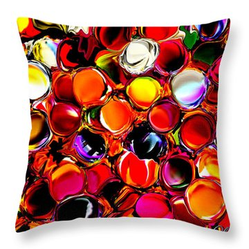 Digital2012b Throw Pillow