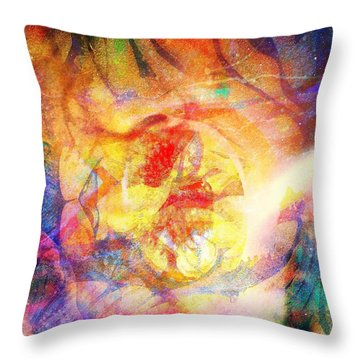 Digitally Different Throw Pillow by Fania Simon
